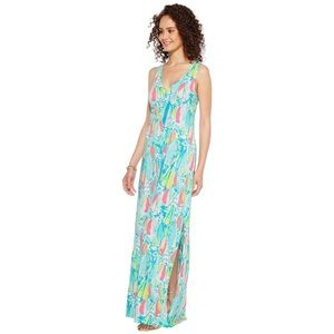 NWT Lilly Pulitzer Beach and Bae Kerri Maxi Dress